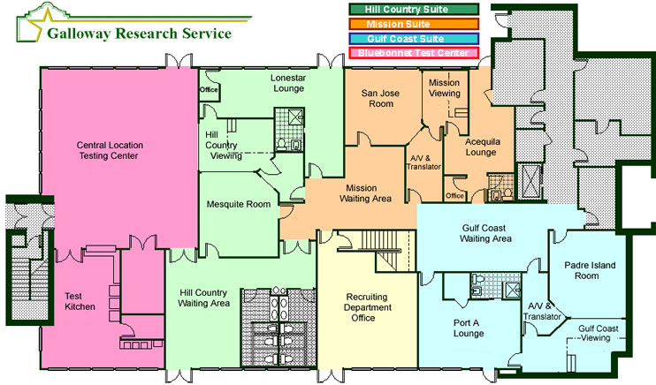 Floor plan galloway research service for Floor plan services
