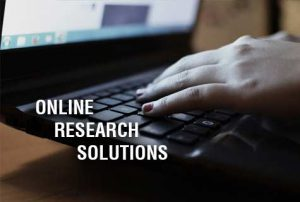 Online Market Research Solutions
